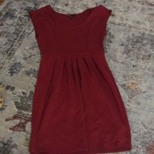 Forever 21 red vintage style dress